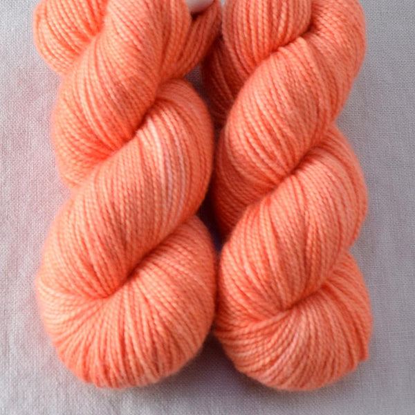 Spicy Papaya - Miss Babs 2-Ply Toes yarn