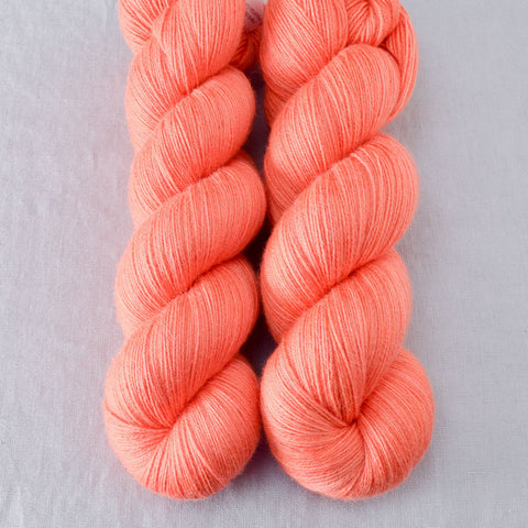 Spicy Papaya Partial Skeins - Miss Babs Katahdin yarn