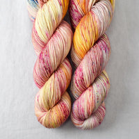 Spring Flowers Yellow - Miss Babs Keira yarn