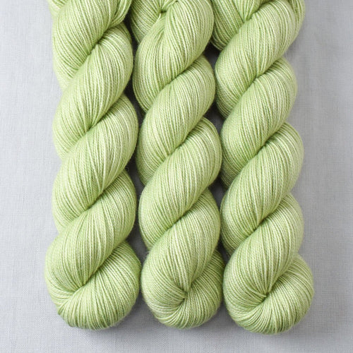 Spring Green - Miss Babs Yummy 2-Ply yarn