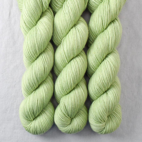 Spring Green - Miss Babs Yummy 3-Ply yarn
