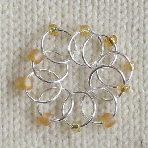 Babs' Favorite Stitch Markers - Gold