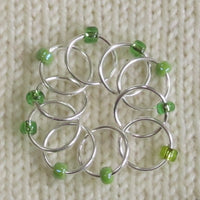 Babs' Favorite Stitch Markers - Light Green
