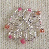 Babs' Favorite Stitch Markers - Pink
