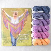 Strickmich! Knitting Inventions book and Damsdorf Gradient Set bundle