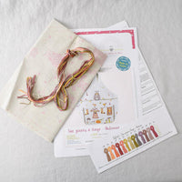 Tie Top Embroidery Kit - Autumn