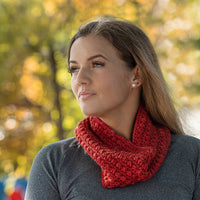 Triangle Puff Cowl