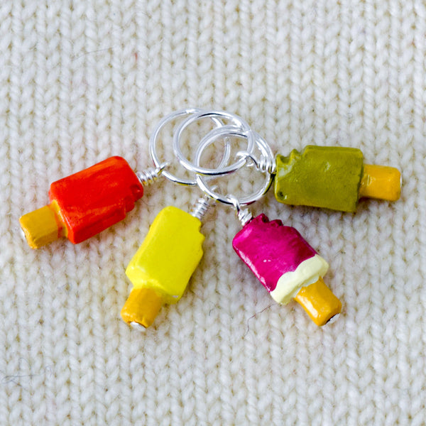 Tropical Popsicles - Miss Babs Stitch Markers
