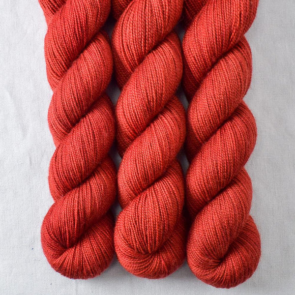 Turkey Red - Miss Babs Yummy 2-Ply yarn