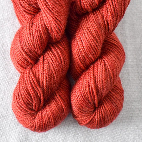 Turkey Red - Miss Babs 2-Ply Toes yarn