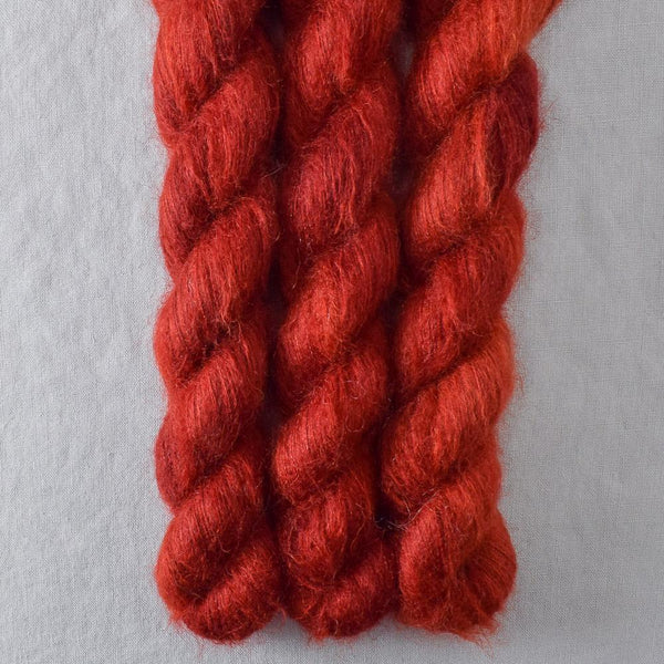 Turkey Red - Miss Babs Moonglow yarn