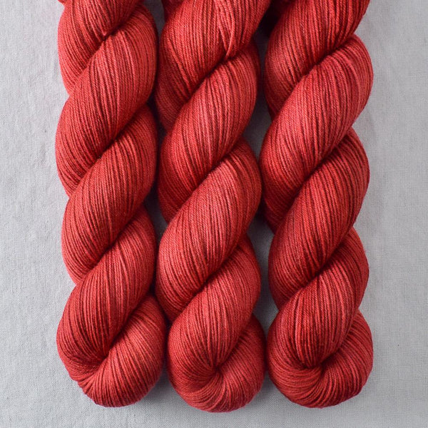 Turkey Red - Miss Babs Putnam yarn