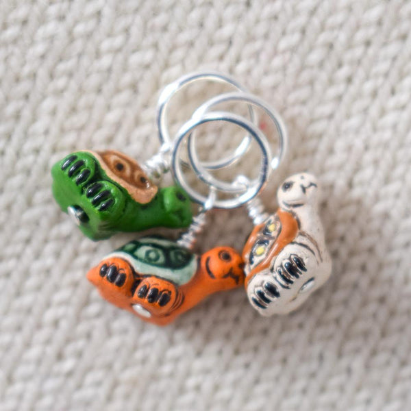 Turtle Stitch Markers - Miss Babs Stitch Markers