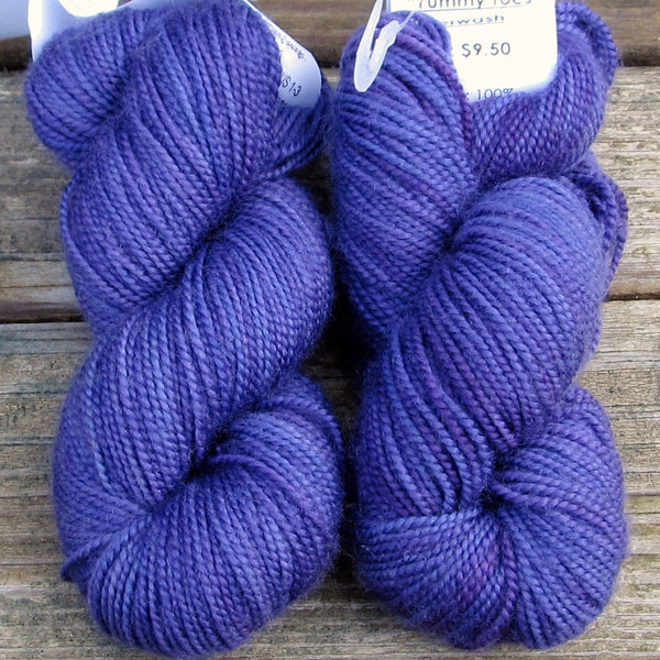 Violets - 2-Ply Toes