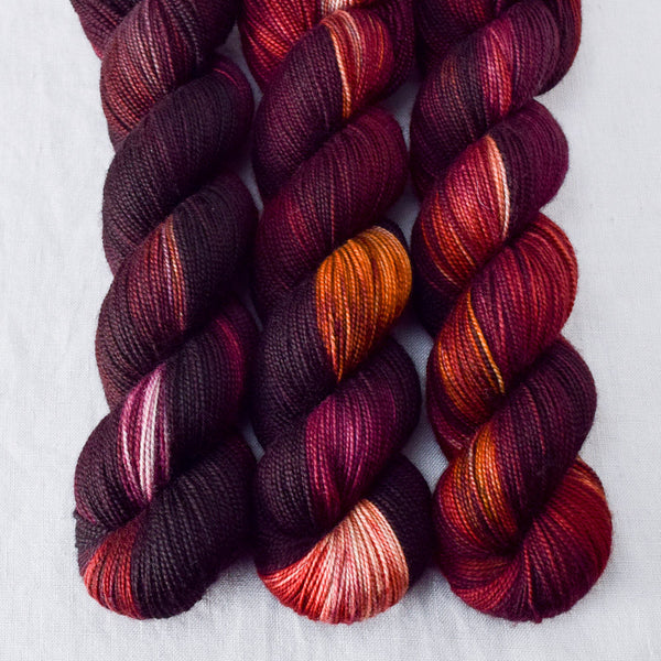 Volcanic Eruption - Miss Babs Yummy 2-Ply yarn