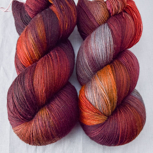 Volcanic Eruption - Miss Babs Katahdin yarn