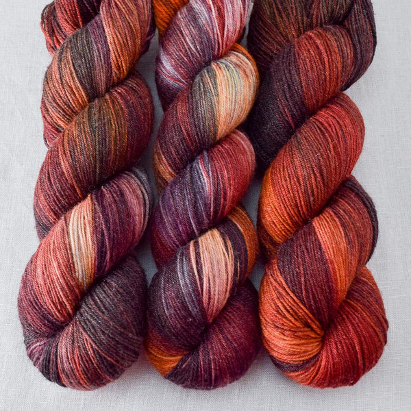 Volcanic Eruption - Miss Babs Tarte yarn