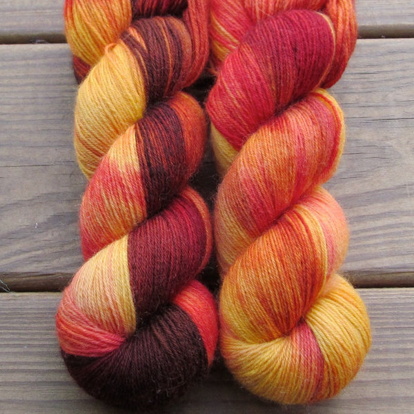 Wanna Go Crazy - Miss Babs Northumbria Fingering yarn