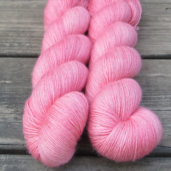 Watermelon Pink - Miss Babs Northumbria Fingering Yarn