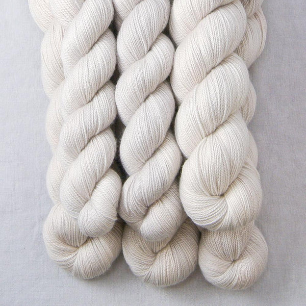 White Peppercorn Partial Skeins - Miss Babs Dulcinea yarn
