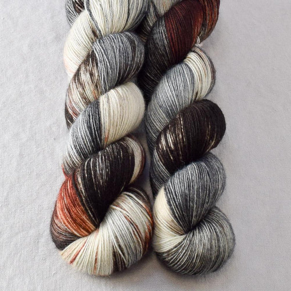 Wolves Den Partial Skeins - Miss Babs Katahdin yarn