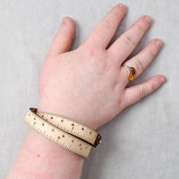 Leather Wrist Ruler - Natural