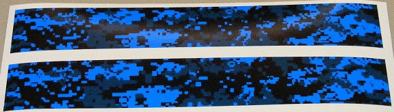 Missouri Archery Arrow Wraps Digital Camo Flo Blue 1-Dozen