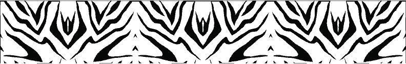 Arrow Wraps Zebra Black/White 12+2 Free