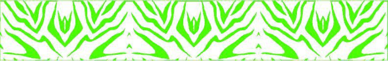 Arrow Wraps Zebra Green/White 12+2 Free