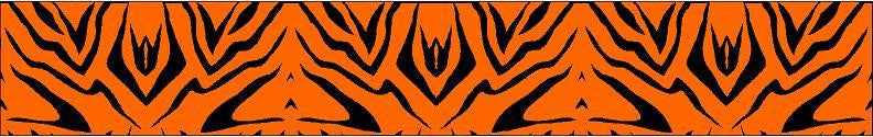 Arrow Wraps Zebra Flo Orange 12+2 Free