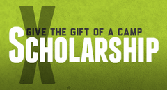 2 Camper Scholarships