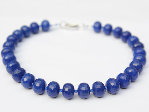 Lilly Necklace - Royal Blue Jade
