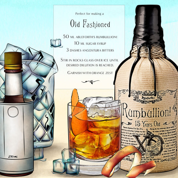Old Fashioned rum recipe