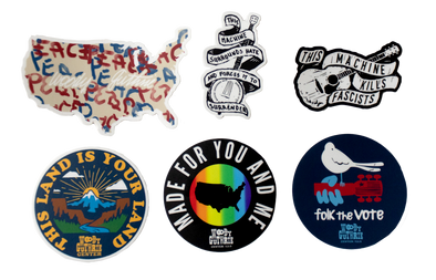 Woody Guthrie Sticker Bundle