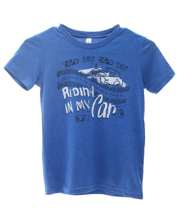 Riding in My Car Toddler and Youth Shirt