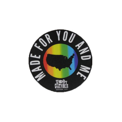 Made For You and Me Sticker