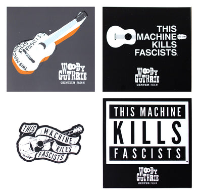 This Machine Kills Fascists Sticker Bundle