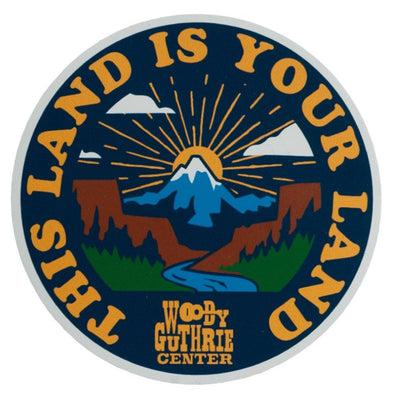 This Land Is Your Land Sticker