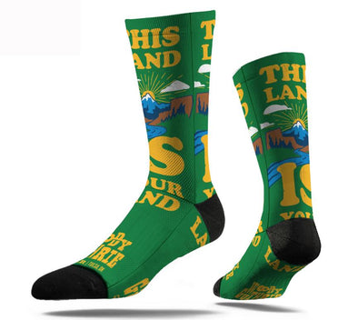This Land Is Your Land Socks