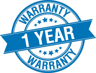 FREE One Year Warranty!