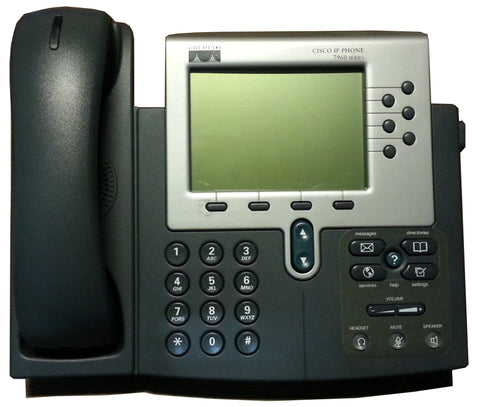 Cisco 7960G phone, CP-7960G