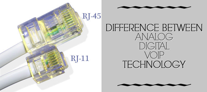 Difference Between Analog Digital And Ip Telephony
