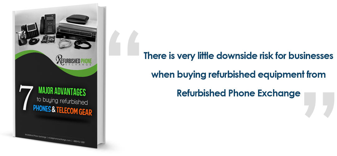 Advantages of Buying Refurbished