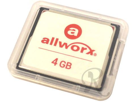 Allworx 6X System Compact Flash 4GB (8400022) - New