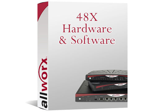 Allworx 48X 1-Year Hardware & Software Key (8320080)