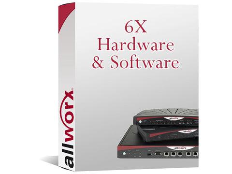 Allworx 6X 1-Year Hardware & Software Key (8320079)