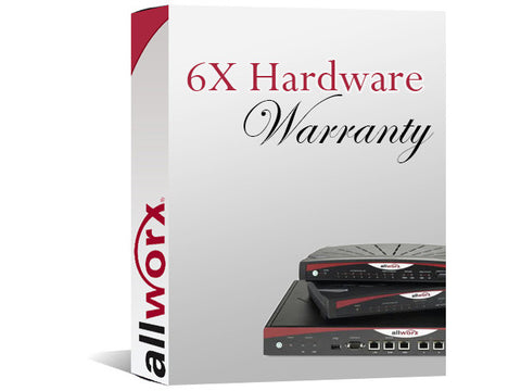 Allworx 6X 4-Year Extended Hardware Warranty (8320054)