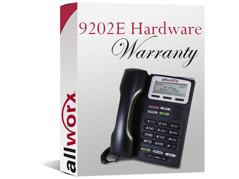 Allworx 9202E 4-Year Extended Hardware Warranty (8320057)