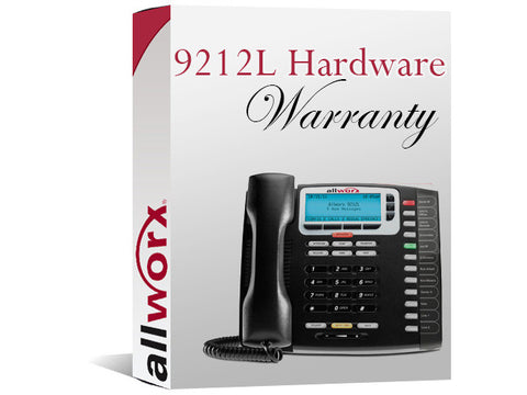 Allworx 9212L 4-Year Extended Hardware Warranty (8320058)