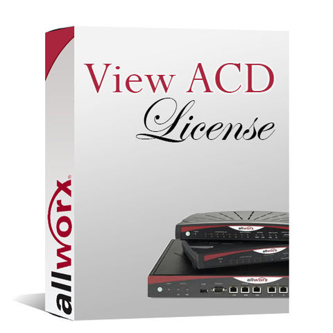 Allworx 6X System View ACD License (8210111)